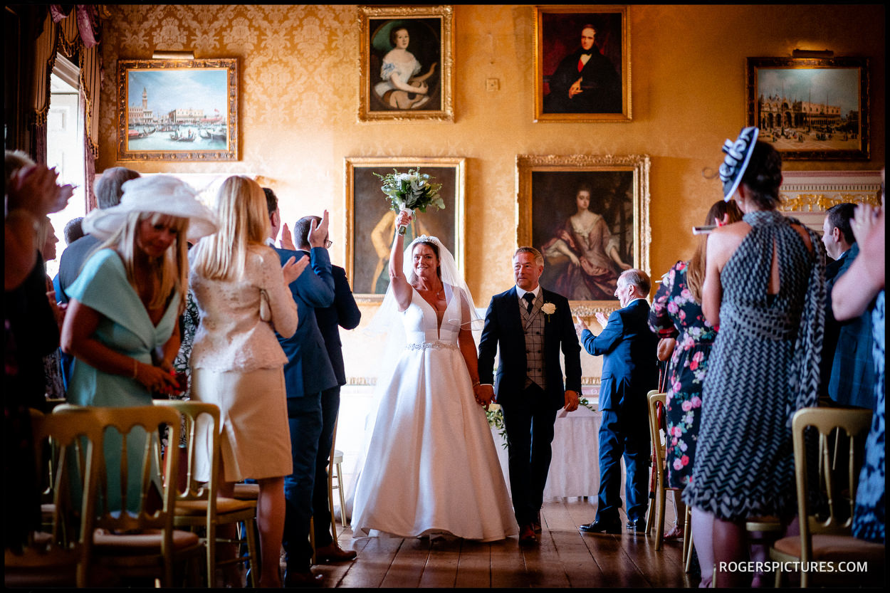 Country House wedding at Brocket Hall