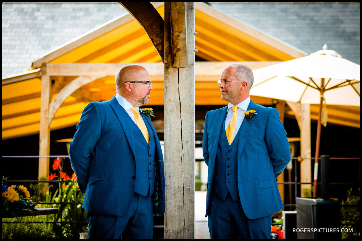 Summer Wedding at the Farmhouse at Redcoats