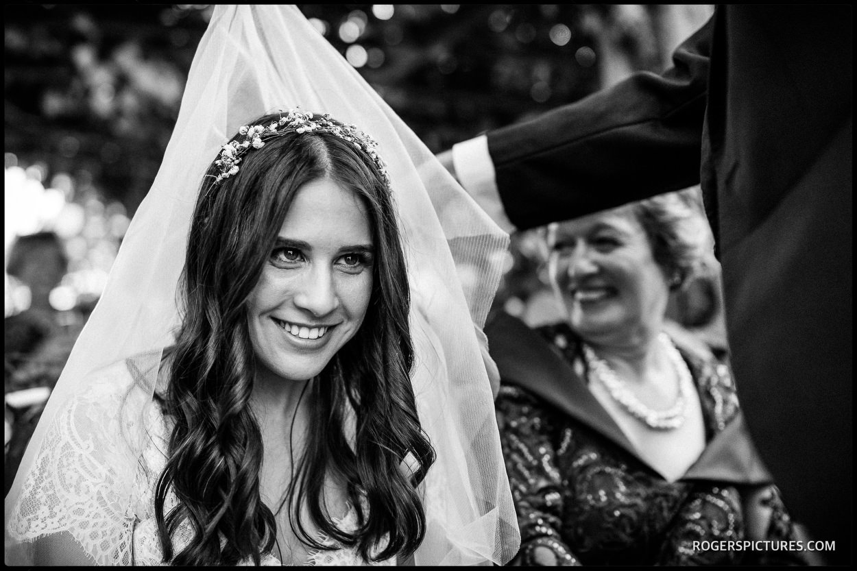 Veiling ceremony or Bedeken at Hatfield House