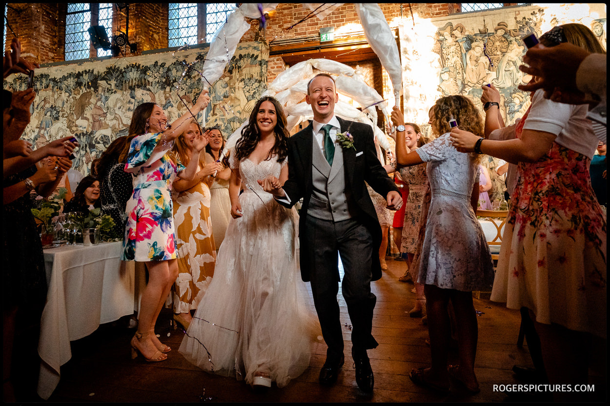 Jewish wedding celebrations in the Old Palace at Hatfield House