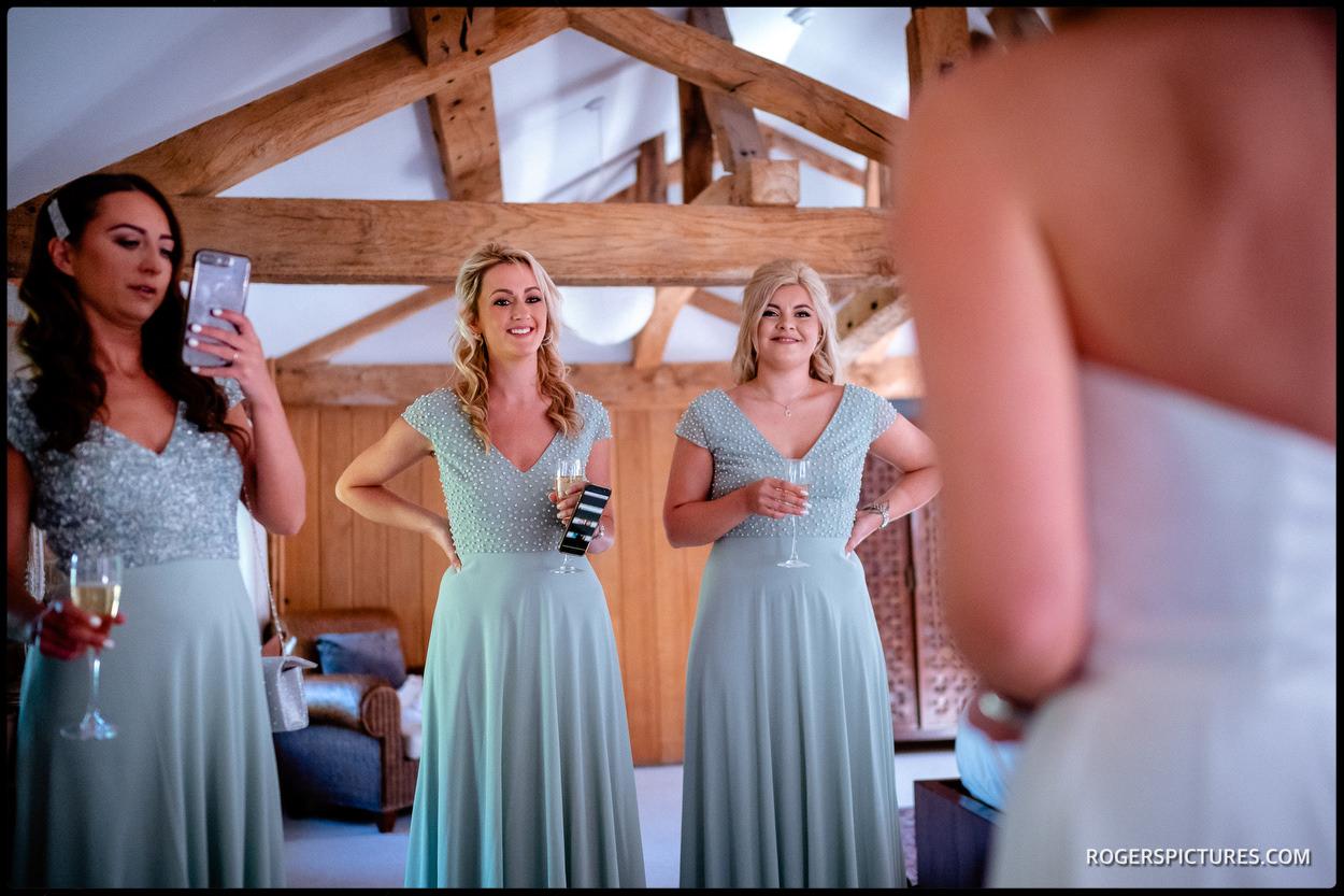 Wasing Park bridesmaids
