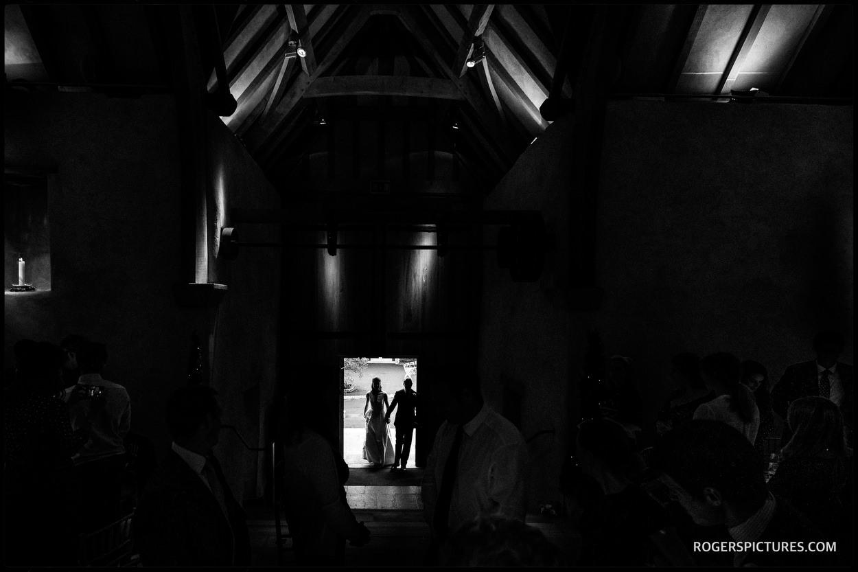 Autumn Wedding at the Great Barn