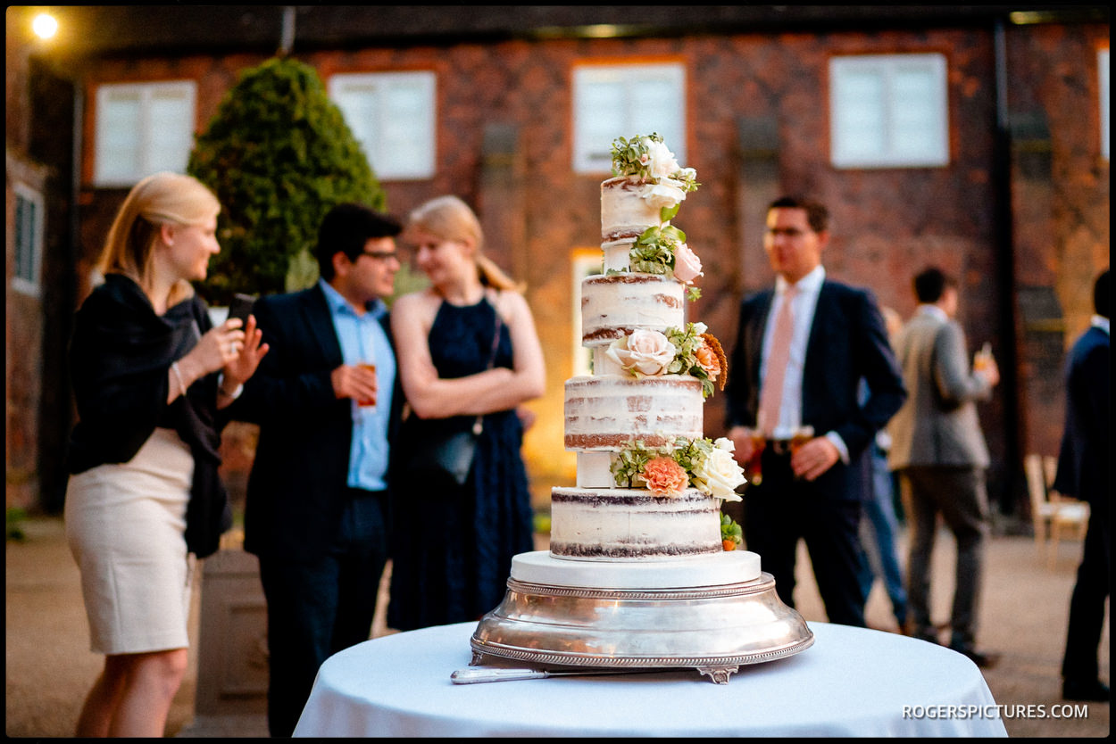 Wedding cake at Fulham Palace