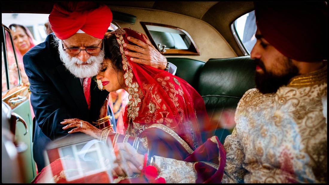 Emotional unposed wedding photography