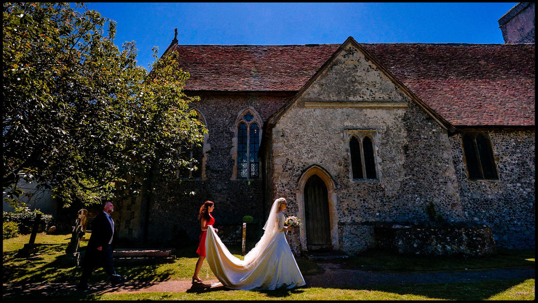 Documentary wedding photographer in the UK