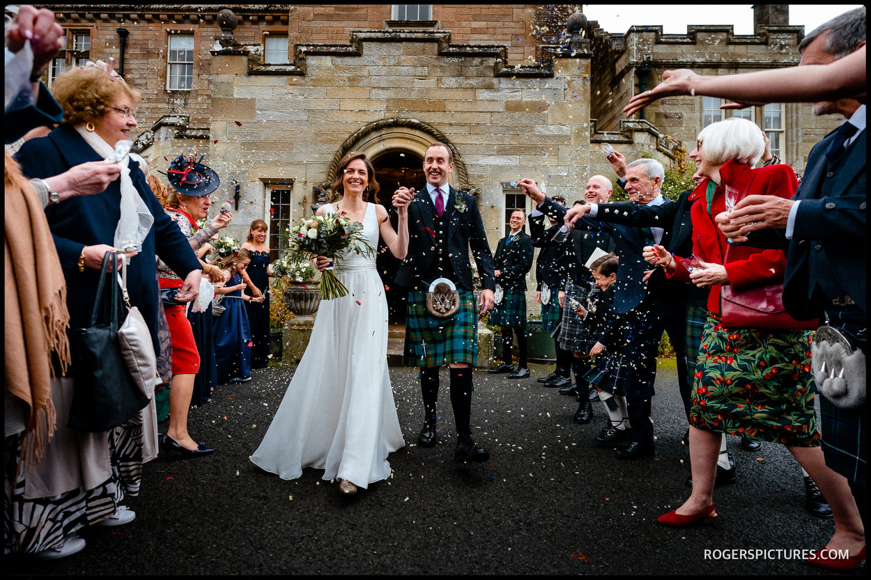 Winter Wedding at Glenapp Castle