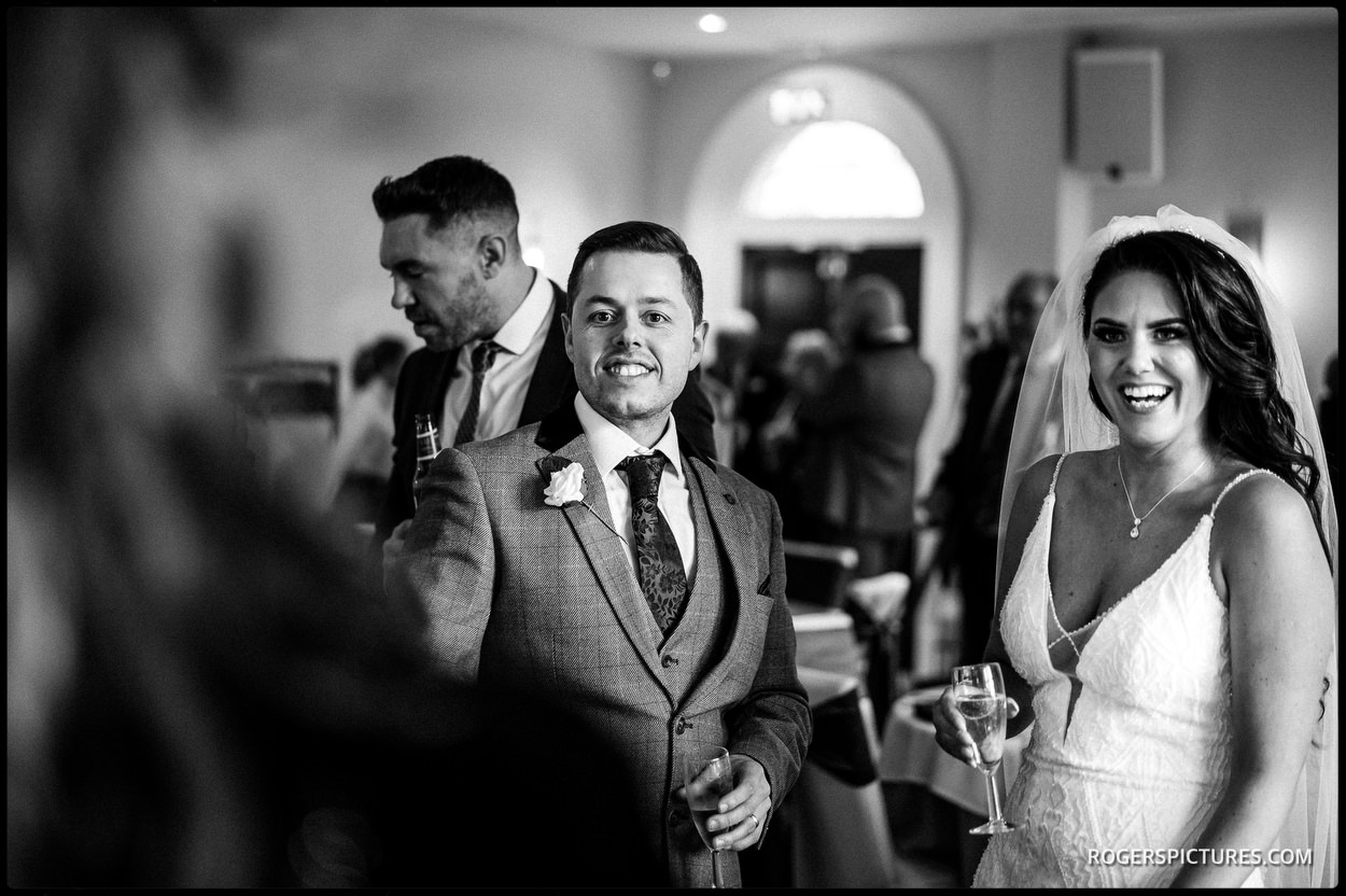 Wedding reception photography in Wigan