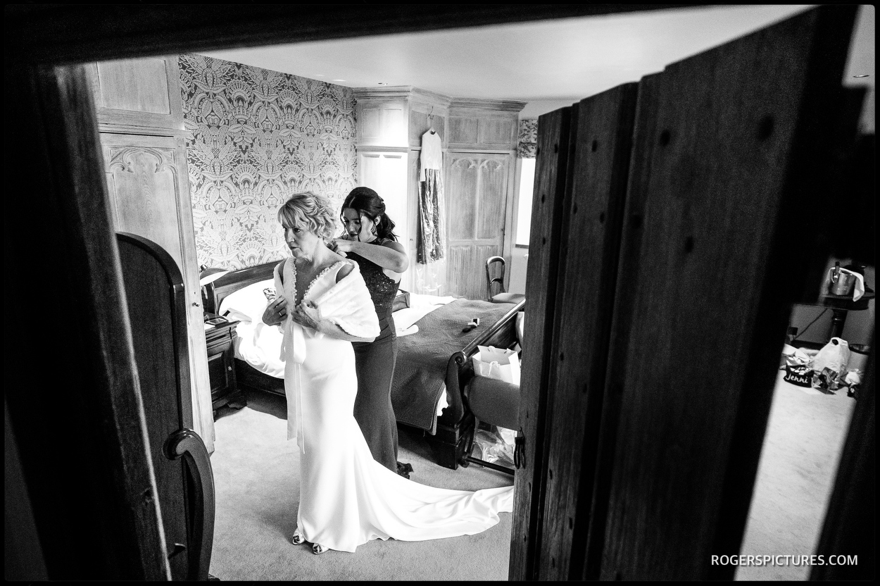 Bridal preparations at Maiden's Tower at Leeds Castle