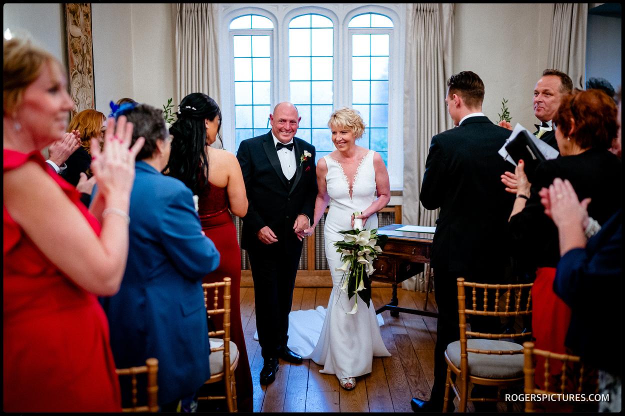 Maiden's Tower Wedding ceremony