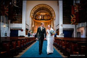 Guards Chapel Wellington Barracks wedding photo