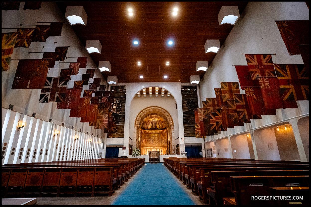 Guards Chapel wedding venue