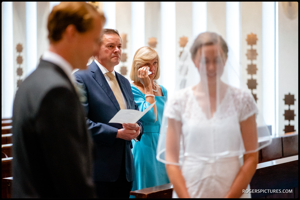 Getting married at Guards' Chapel
