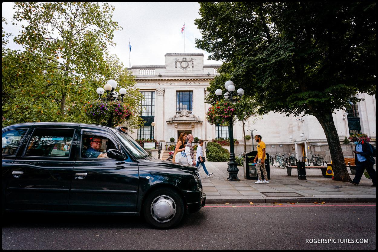 Islington Town Hall London wedding Venue