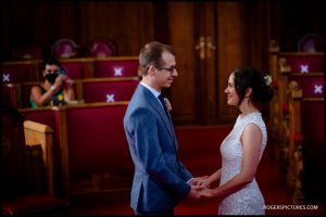 Small Wedding at Islington Town Hall