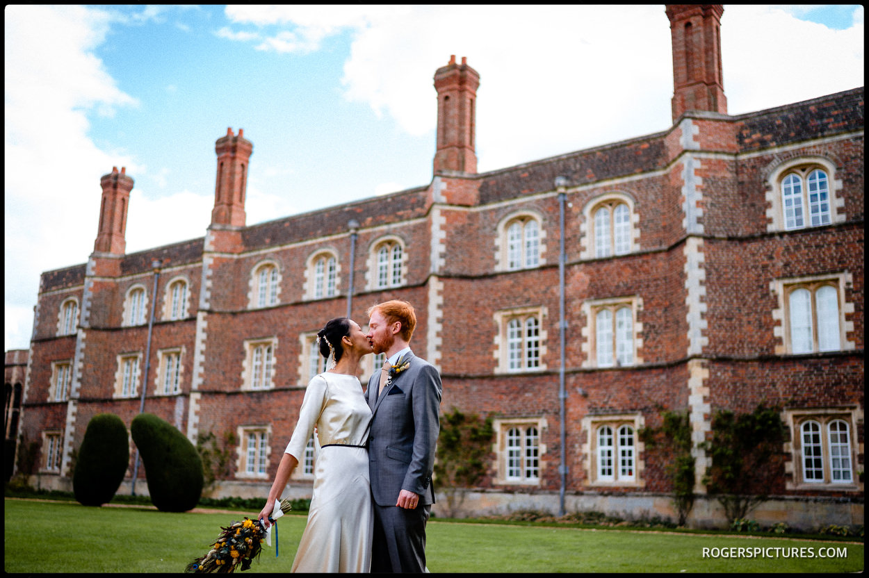 Wedding at Jesus College Cambridge