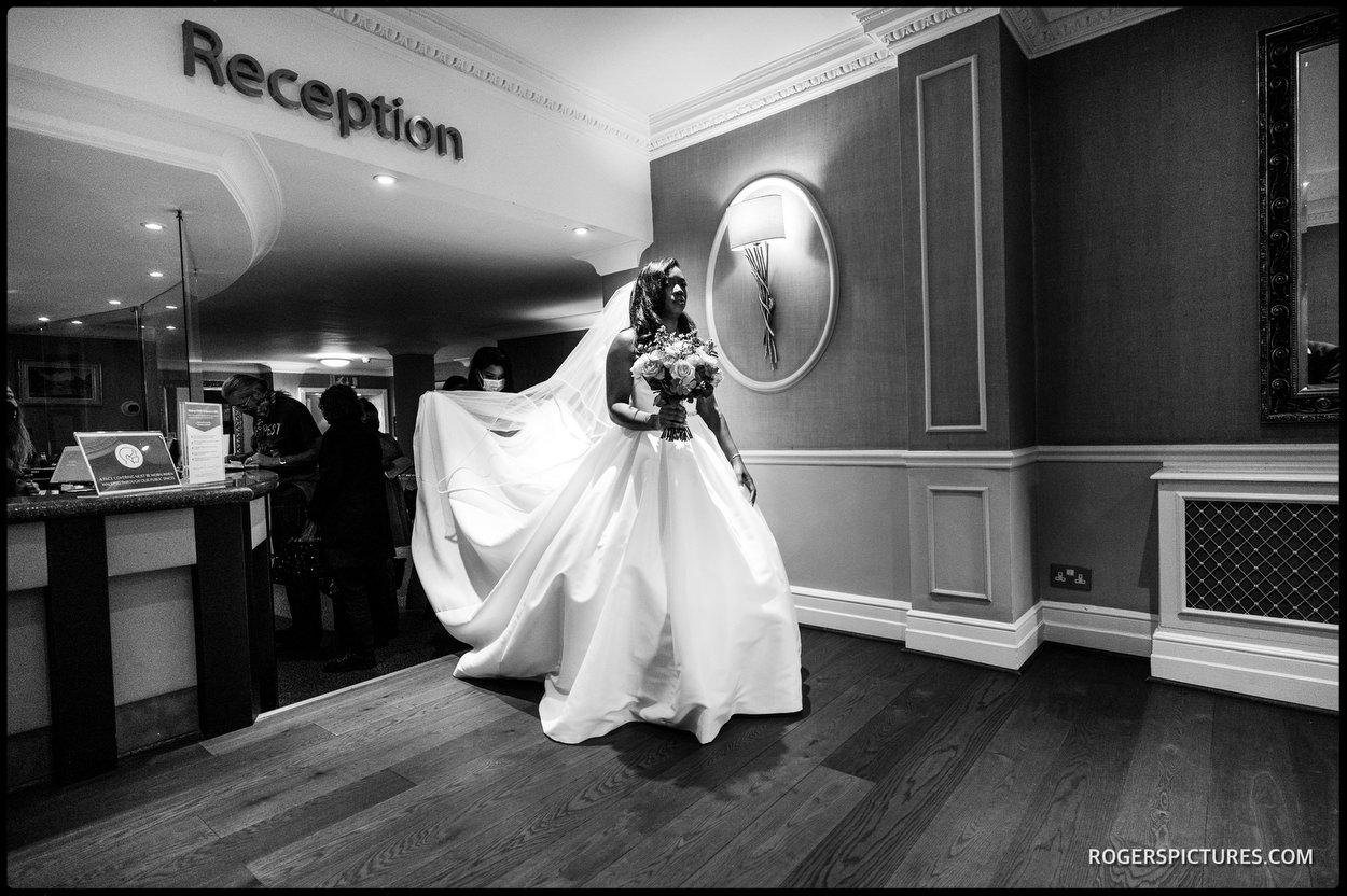 London hotel wedding
