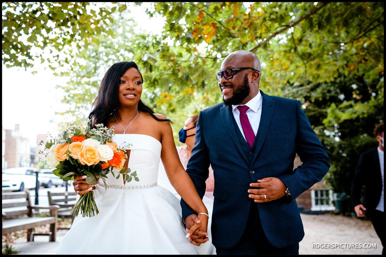 Wedding portrait at Richmond Hill Hotel
