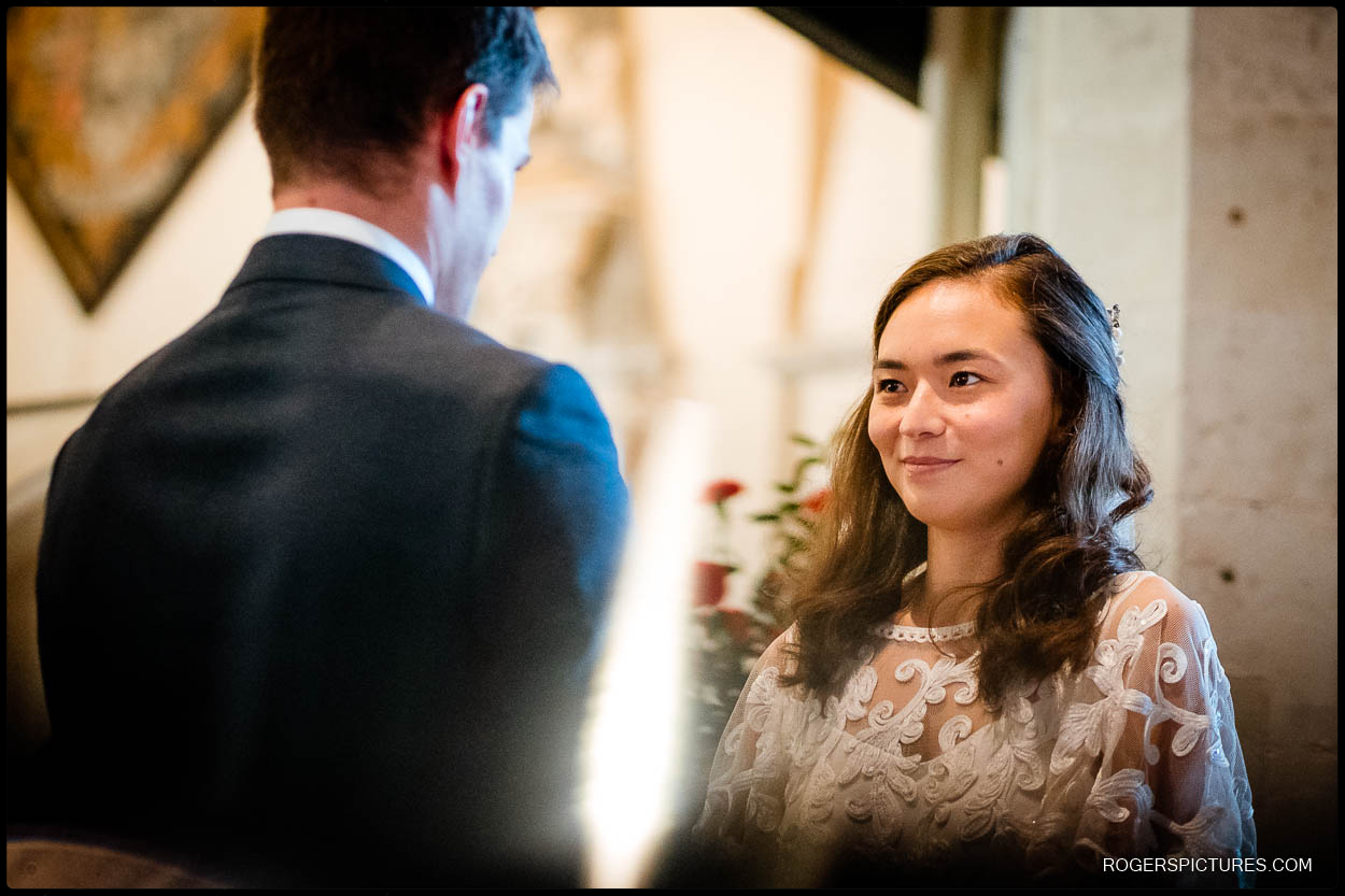 Wedding ceremony in Herts