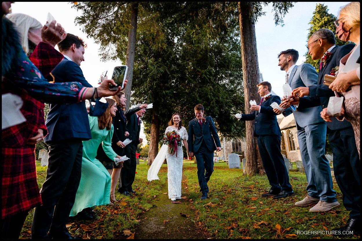 St Helen's Church Wheathampstead Wedding