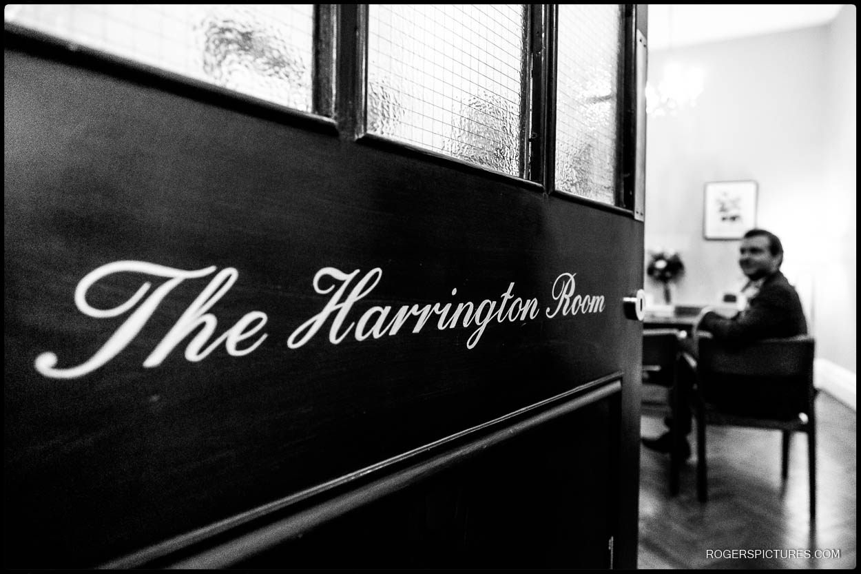 The Harrington Room at Chelsea Old Town Hall