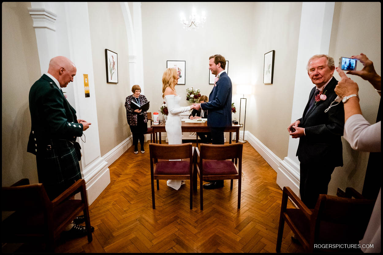 getting married at chelsea old town hall