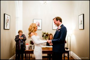 Chelsea Town Hall Winter Wedding