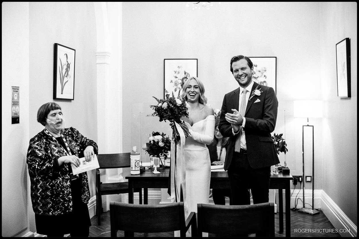 documentary wedding photography at chelsea town hall