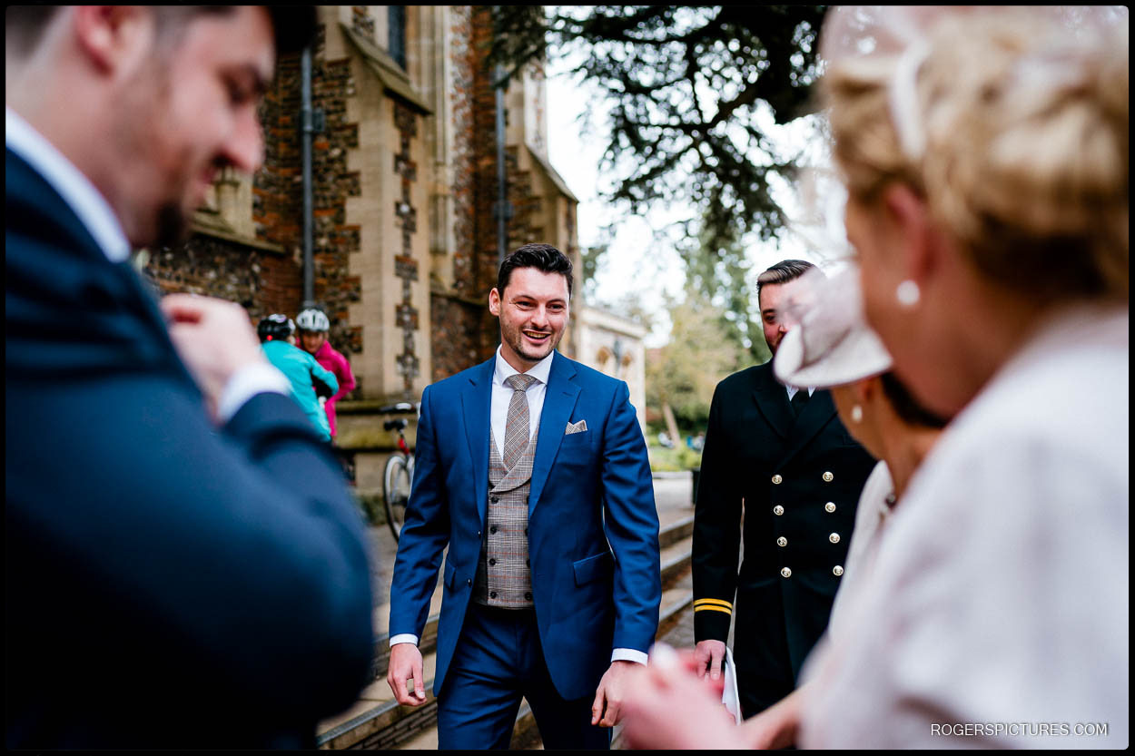 Groom at St Albans