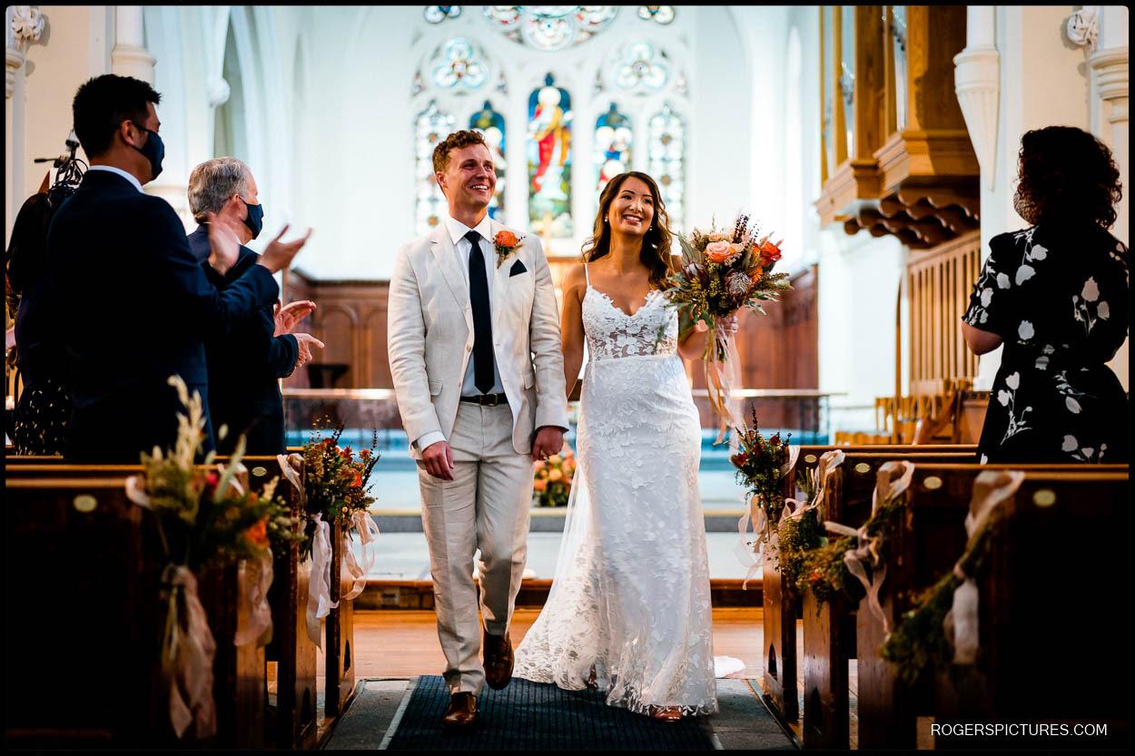 Church wedding in Hemel Hempstead