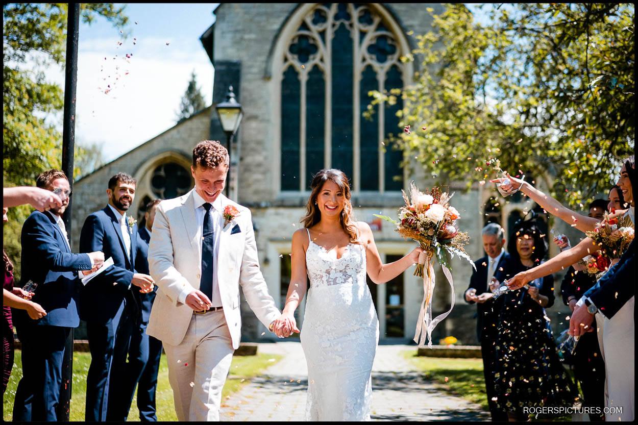 Newly wed couple in Hemel Hempstead