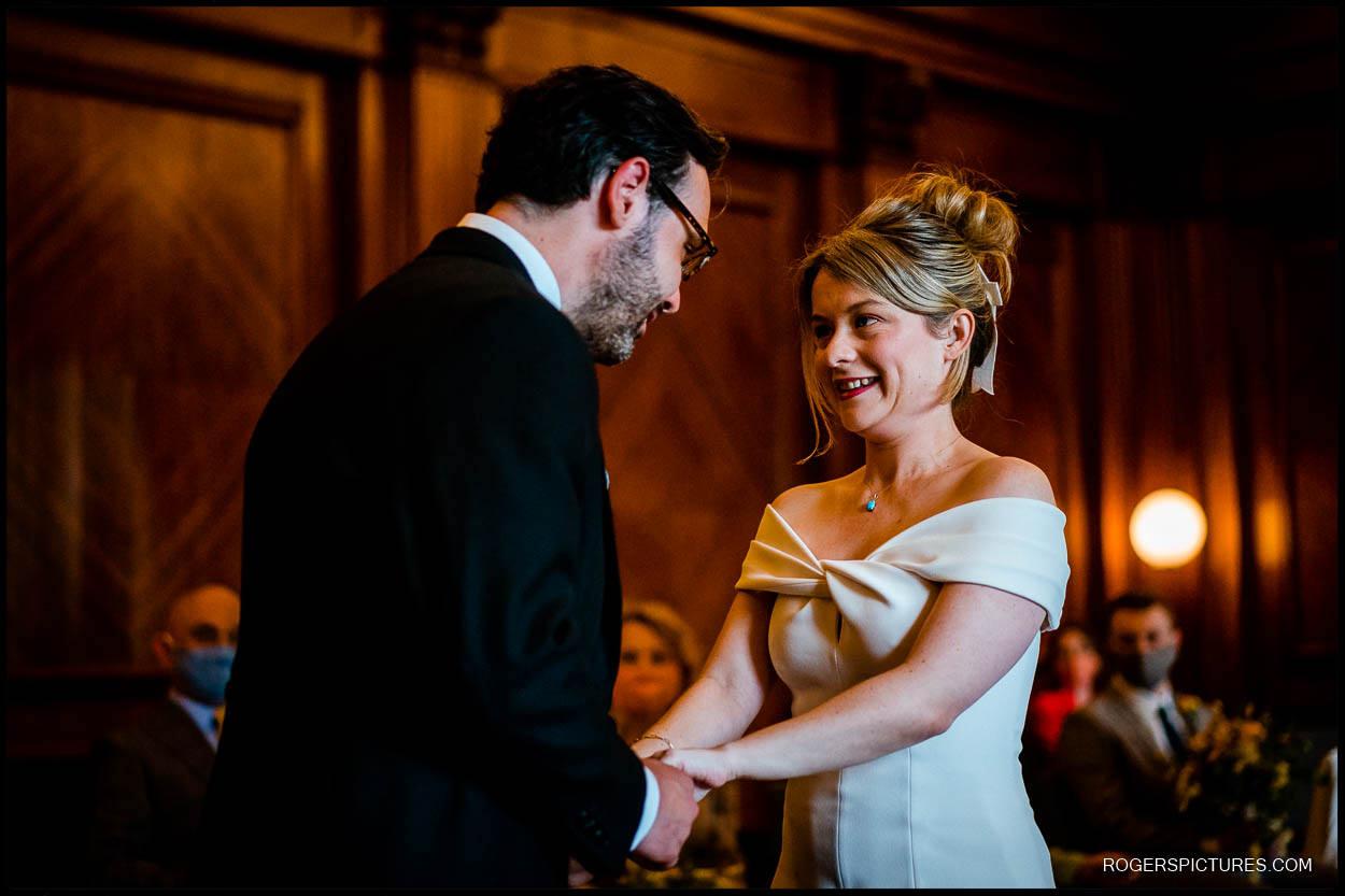 Wedding photos at Old Marylebone Town Hall London