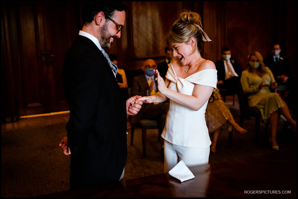 Getting married at Old Marylebone Town Hall