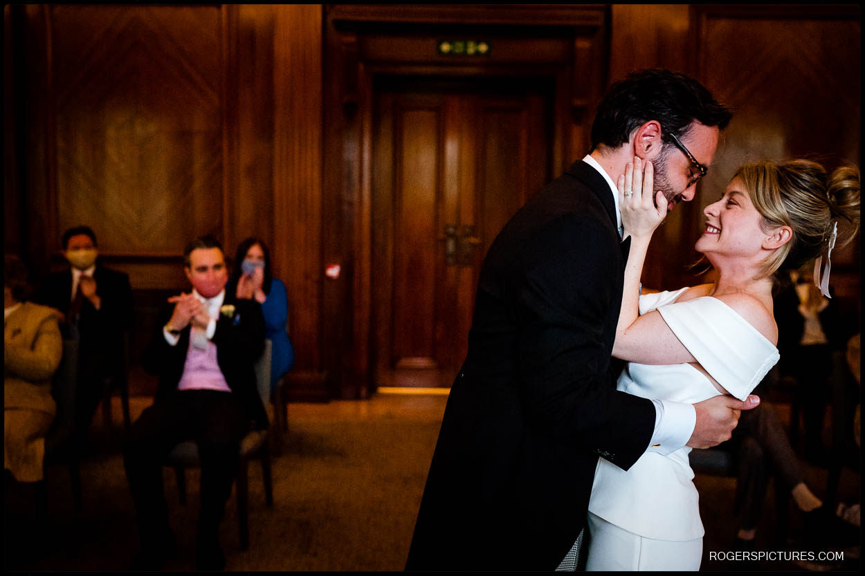 Old Marylebone Town Hall and Quo Vardis wedding