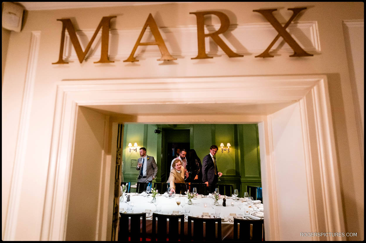 Marx room for a wedding at Quo Vardis