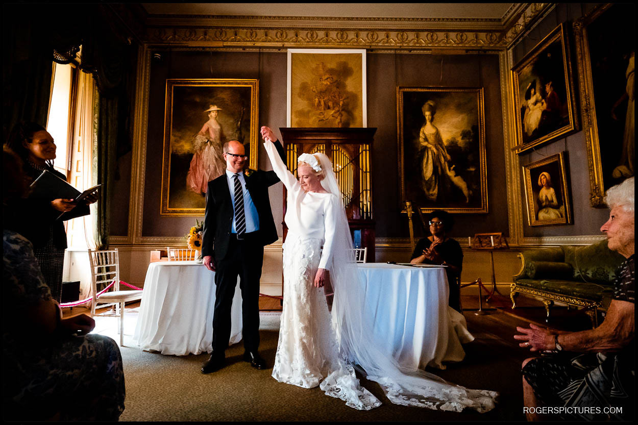 Getting married at Kenwood House