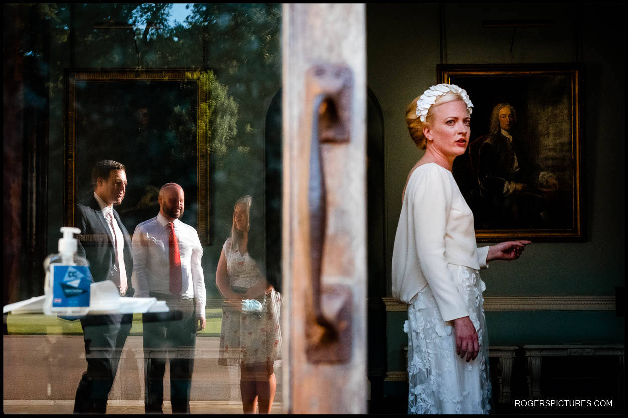 Wedding reception at Kenwood House in London