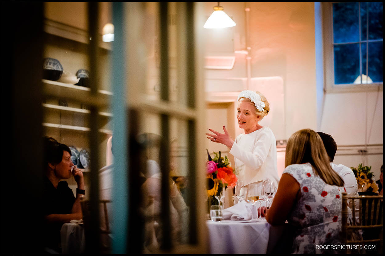 Wedding reception at Kenwood House