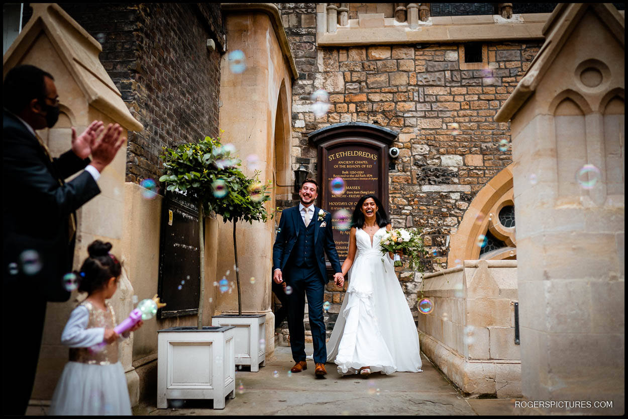 Getting married at St Etheldredas London